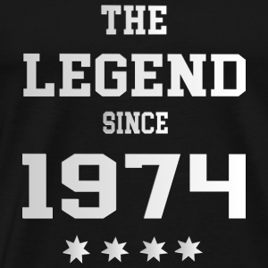 The Legend since 1974 T-Shirts - Männer Premium T-Shirt