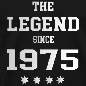 The Legend since 1975 T-Shirts - Männer Premium T-Shirt