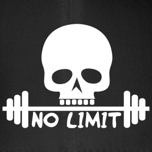 No Limit / Bodybuilding / Flex / Fitness Caps & Mützen - Flexfit Baseballkappe