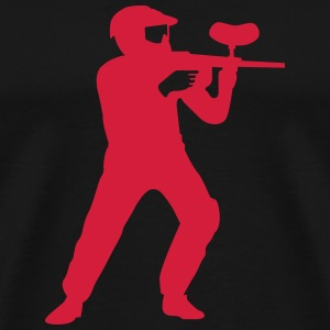 paintball T-shirts - Mannen Premium T-shirt