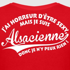 Sexy Alsacienne Tee shirts - T-shirt col V Femme