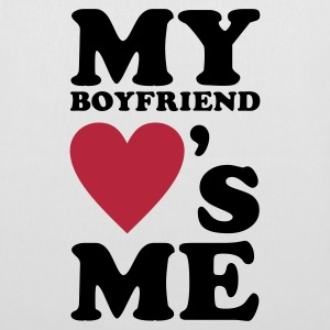 MY BOYFRIEND LOVES ME Bags & Backpacks - Tote Bag