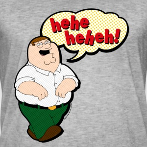 Family Guy Peter Griffin Hehehe - Herre vintage T-shirt
