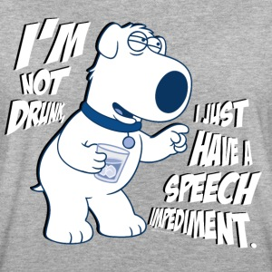 Family Guy Brian I'm Not Drunk - Camiseta holgada de mujer