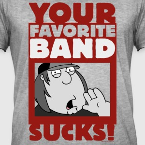 Family Guy Chris Your Band Sucks - Mannen Vintage T-shirt