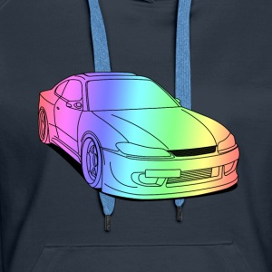 silvia colourful Sweaters - Vrouwen Premium hoodie