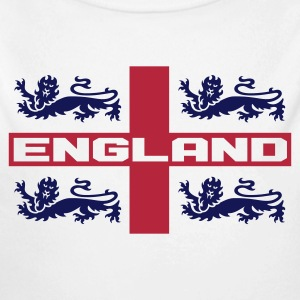 4 LIONS CROSS ENGLAND Baby Bodysuits - Longlseeve Baby Bodysuit