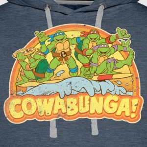 TMNT  Surfing Turtles - Men's Premium Hoodie