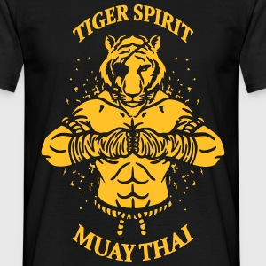 Tiger Spirit T-shirts - Mannen T-shirt
