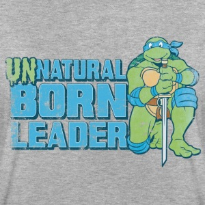 TMNT Turtles Leonardo Unnatural Born Leader - Frauen Oversize T-Shirt
