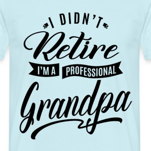 Professional Grandpa - Men's T-Shirt