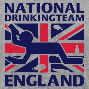 NATIONAL DRINKING TEAM ENG T-Shirt - Men's Premium T-Shirt