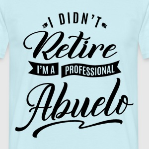 Professional Abuelo - Men's T-Shirt