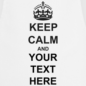 Keep Calm And Your Text Best Price  Aprons - Cooking Apron