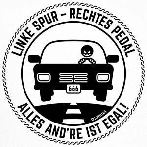 Linke Spur – Rechtes Pedal: Alles And're Ist Egal! Caps & Mützen - Trucker Cap