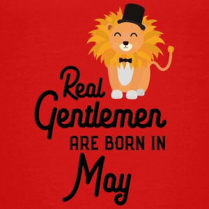 Real Gentlemen are born in May S63yp Shirts - Teenage Premium T-Shirt