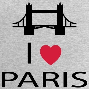I Love Paris Sweat-shirts - Sweat-shirt Homme Stanley & Stella