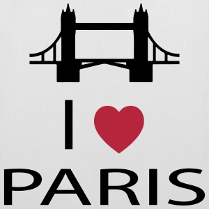 I Love Paris Sacs et sacs à dos - Tote Bag