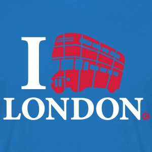 I Love London DD Bus - Men's T-Shirt