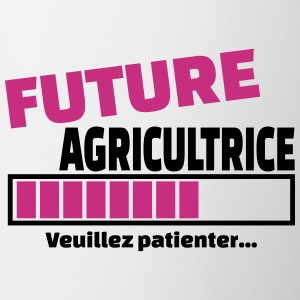 future agricultrice Bouteilles et Tasses - Tasse