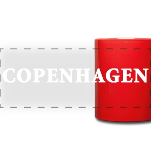 Enjoy a cup of Tea or Copenhagen - Full Color Panoramic Mug