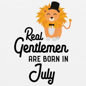 Real Gentlemen are born in July Sp8i5 Sports wear - Men's Premium Tank Top