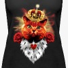 Red Cat the Prince Princess Katze Krone Vintage Top - Frauen Premium Tank Top