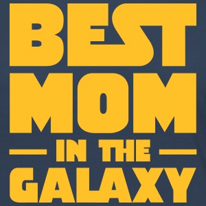 Best Mom In The Galaxy Langærmede T-shirts - Dame premium T-shirt med lange ærmer