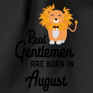 Real Gentlemen are born in August Sciii Bags & Backpacks - Drawstring Bag