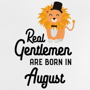 Real Gentlemen are born in August Sciii Baby Shirts  - Baby T-Shirt