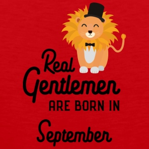 Real Gentlemen are born in September Smz9b Sports wear - Men's Premium Tank Top