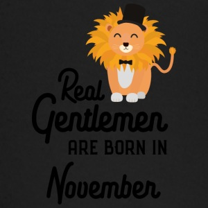 Real Gentlemen are born in November S76j0 Baby Long Sleeve Shirts - Baby Long Sleeve T-Shirt