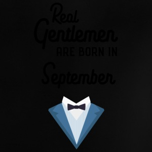 Real Gentlemen are born in September Syz55 Baby Shirts  - Baby T-Shirt