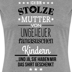 Ungeheuer fantastische Kinder  - Mutter - Frauen Premium T-Shirt