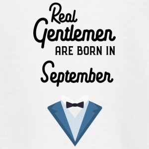 Real Gentlemen are born in September Syz55 Shirts - Teenage T-shirt