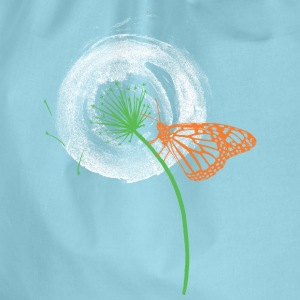 Animal Planet Dandelion with Butterfly - Drawstring Bag