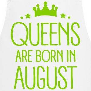 Queens Are Born In August Tabliers - Tablier de cuisine