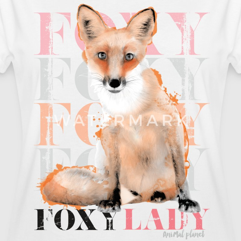 Foxy Lady Animal Planet - Dame oversize T-shirt
