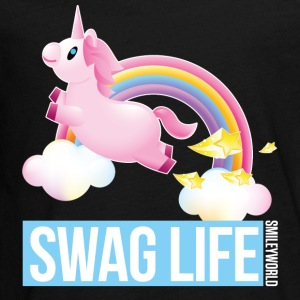 SmileyWorld Einhorn Swag Life - Teenager Premium Langarmshirt