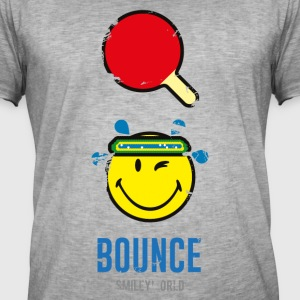 SmileyWorld Table Tennis Bounce - Men's Vintage T-Shirt