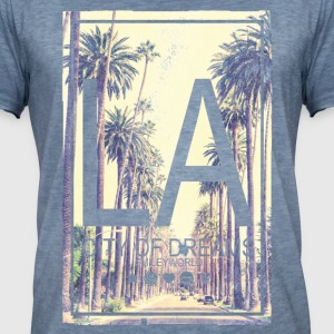 SmileyWorld LA City Of Dreams - Men's Vintage T-Shirt
