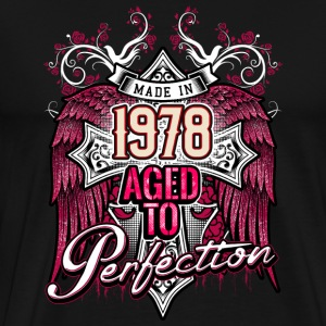 Made in 1978 aged to perfection - birthday gift present - RAHMENLOS T-Shirts - Männer Premium T-Shirt