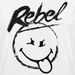 SmileyWorld Rebel Rebellischer Smiley - Frauen Oversize T-Shirt
