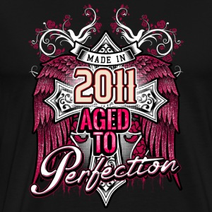 Made in 2011 aged to perfection - birthday gift present - RAHMENLOS T-Shirts - Männer Premium T-Shirt