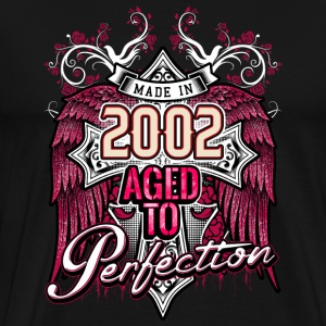 Made in 2002 aged to perfection - birthday gift present - RAHMENLOS T-Shirts - Männer Premium T-Shirt