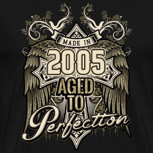 Made in 2005 aged to perfection - retro birthday gift present - RAHMENLOS T-Shirts - Männer Premium T-Shirt