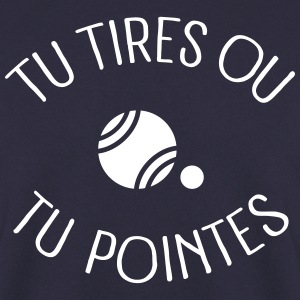 Tu Tires Ou Tu Pointes Sweat-shirts - Sweat-shirt Homme