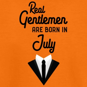 Real Gentlemen are born in July Spwty Shirts - Teenage Premium T-Shirt