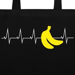 Bananas - Heartbeat Bags & Backpacks - Tote Bag