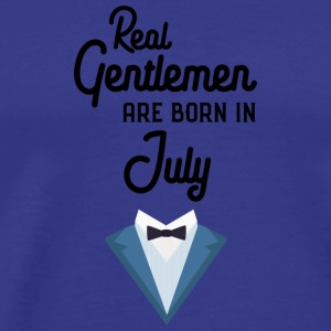 Real Gentlemen are born in July S3792 T-Shirts - Men's Premium T-Shirt